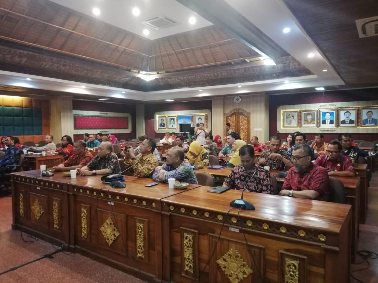 Kunjungan Kelompok Kerja  Indeks Demokrasi Indonesia (IDI) Provinsi dan Kab/Kota se Kalimantan Timur.