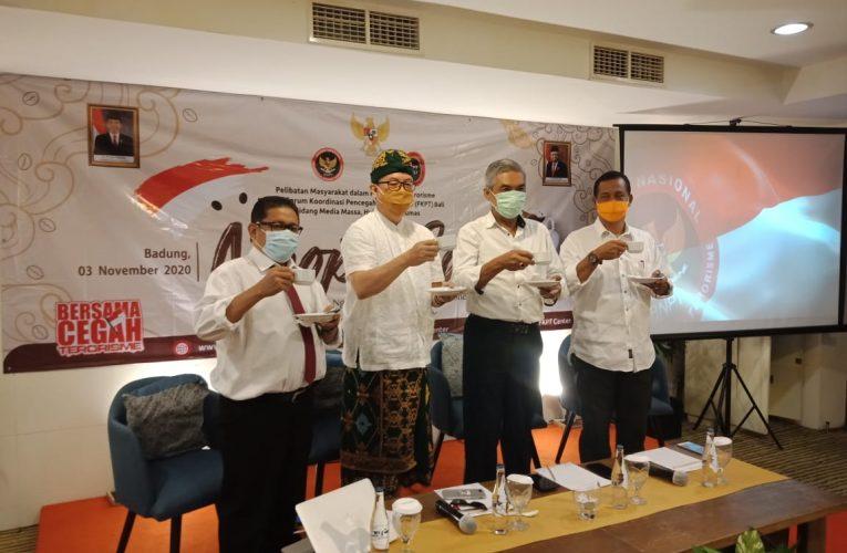 """Kegiatan """"NGOPI COI"""" oleh BNPT bersama FKPT Provinsi Bali"""