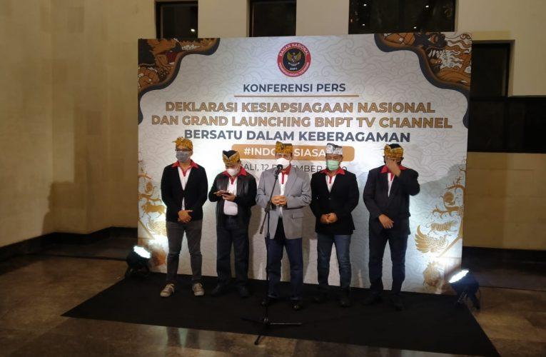 Deklarasi Kesiapsiagaan Nasional dan Grand Launching BNPT TV Channel Di BNDCC